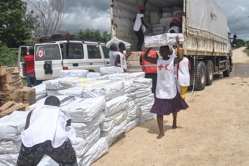 Cruz Roja: una mano amiga para víctimas de conflictos