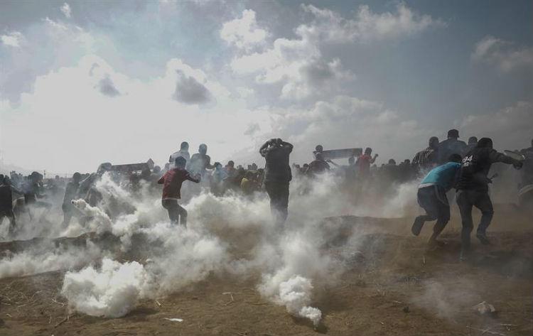 Al menos 16 palestinos asesinados en las protestas en Gaza por el traslado de la embajada de EE.UU