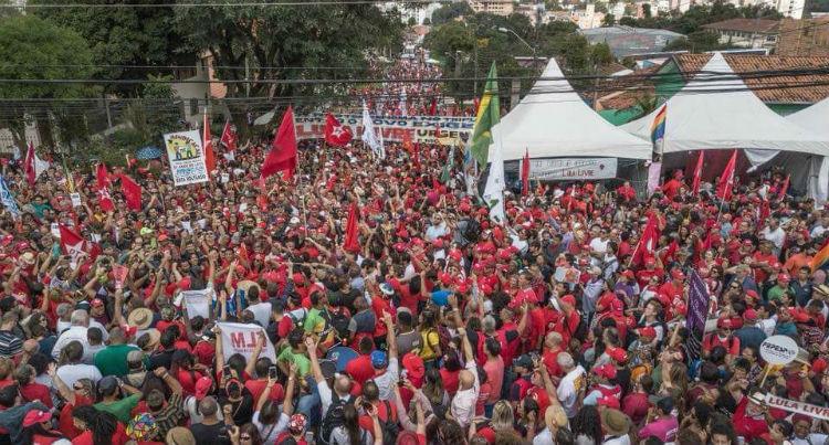 Fuerza trabajadora de Brasil pide libertad de Lula da Silva