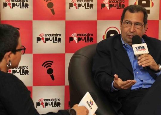 Adán Chávez reiteró la necesidad de consolidar la paz en el país frente a las amenazas extranjeras