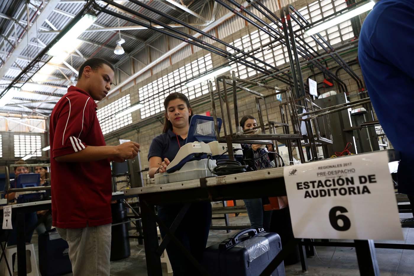 CNE de Venezuela culmina auditoría de verificación ciudadana