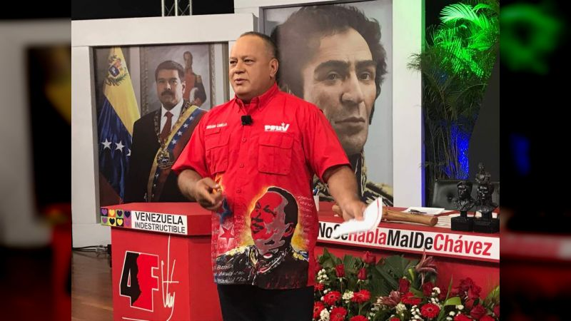 Diosdado Cabello denunció operación Cisne Negro para lograr fuga de terroristas