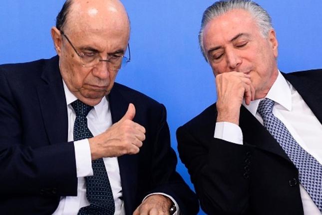 Temer se baja de la presidencial y escoge a su ministro de Hacienda como sucesor