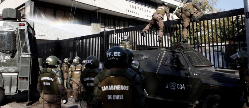 """Manifiestan preocupación por """"uso excesivo de fuerza policial"""" en manifestaciones estudiantiles"""