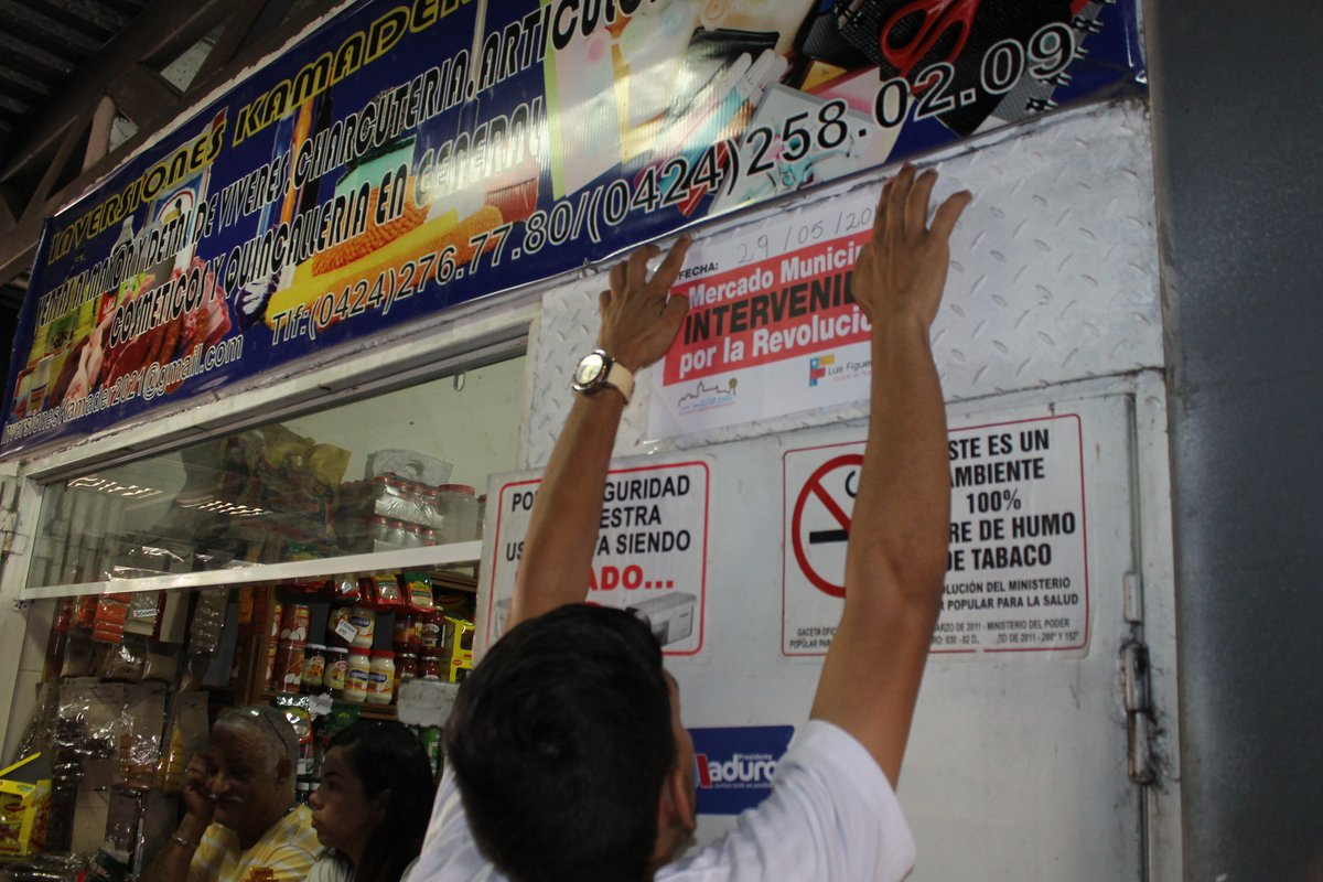 Autoridades venezolanas inician intervención de mercados municipales