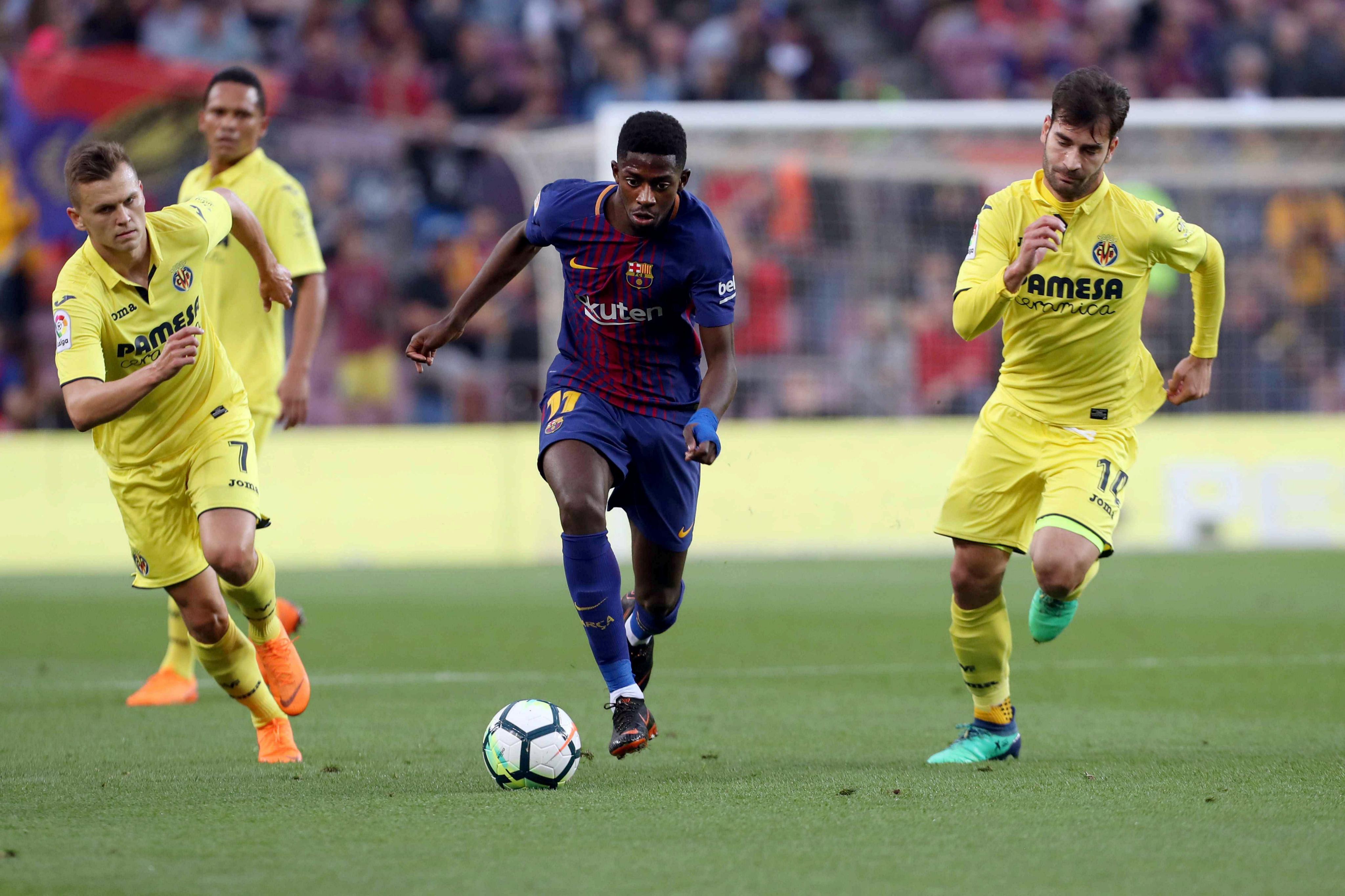 Barcelona extendió su campaña admirable con triunfo 5-1 ante Villarreal