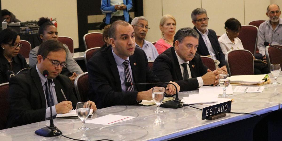 Venezuela hace historia en la CIDH por reivindicar derechos de personas con discapacidad