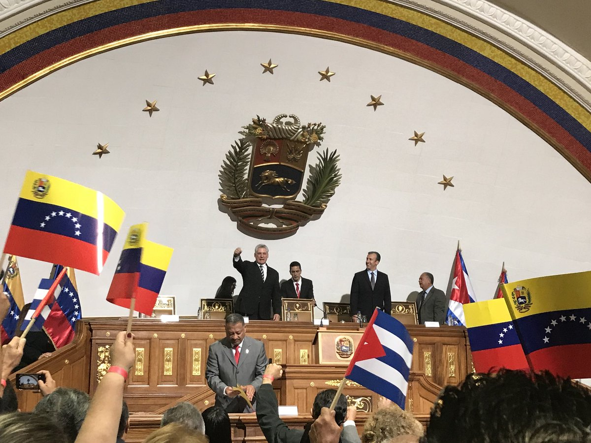 """Miguel Díaz-Canel: """"Hoy más que nunca hay que ser bolivarianos"""""""