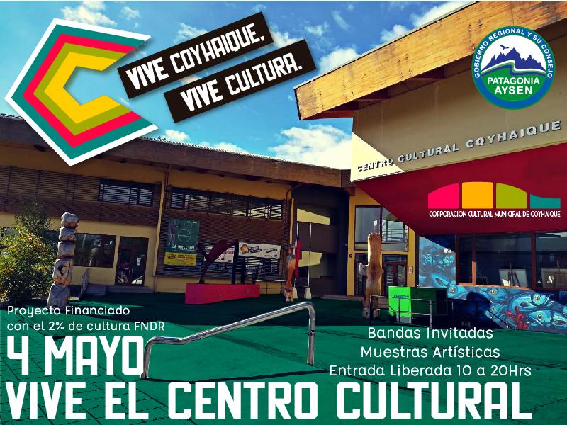 Centro Cultural en Coyhaique abre sus puertas a la comunidad