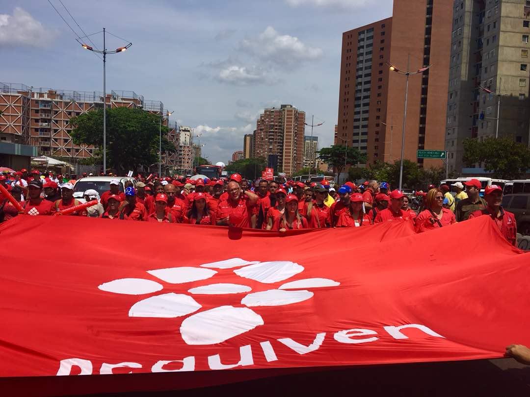 Venezuela: Clase obrera defiende en las calles sus reivindicaciones laborales