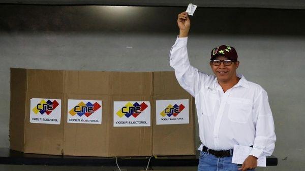 Venezuela elecciones 2018| Candidato opositor Henri Falcón ejerció su derecho al voto