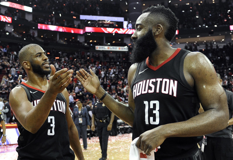 El oeste de la NBA se define con el duelo entre Houston y Golden State