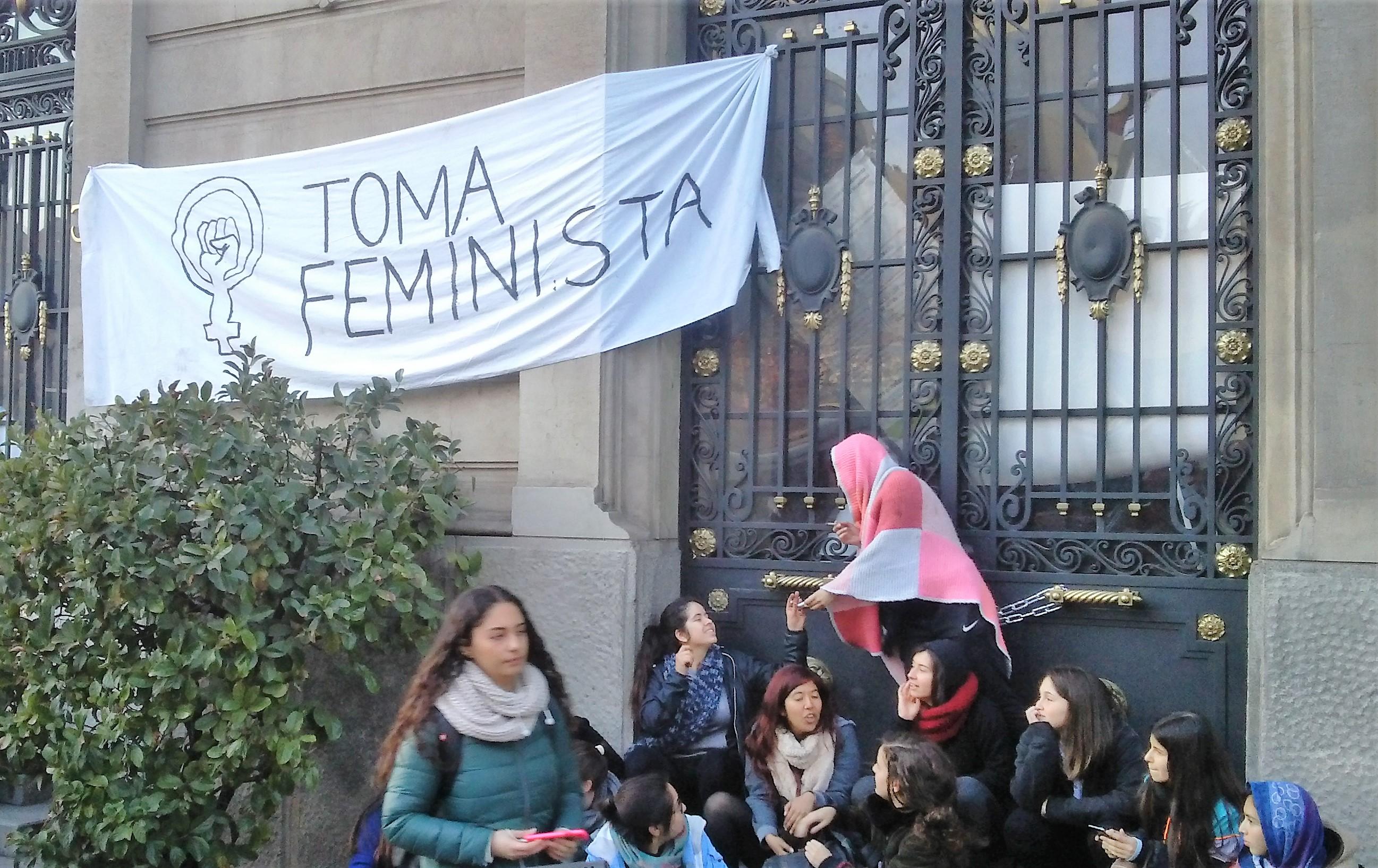 Las demandas no escuchadas de la toma feminista en la UC