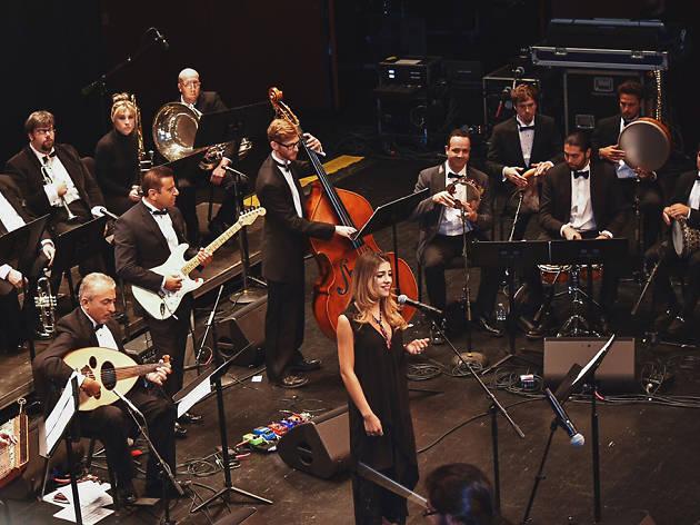 Los diálogos musicales se unieron en EE.UU. con la Orquesta Árabe Nacional