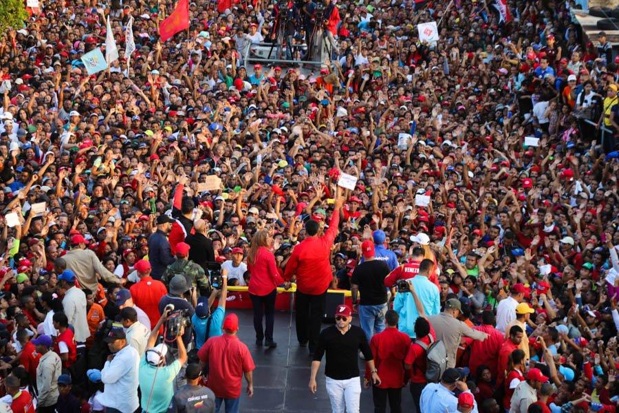 Maduro llama a votar el 20M para proteger al pueblo con las Misiones socialistas