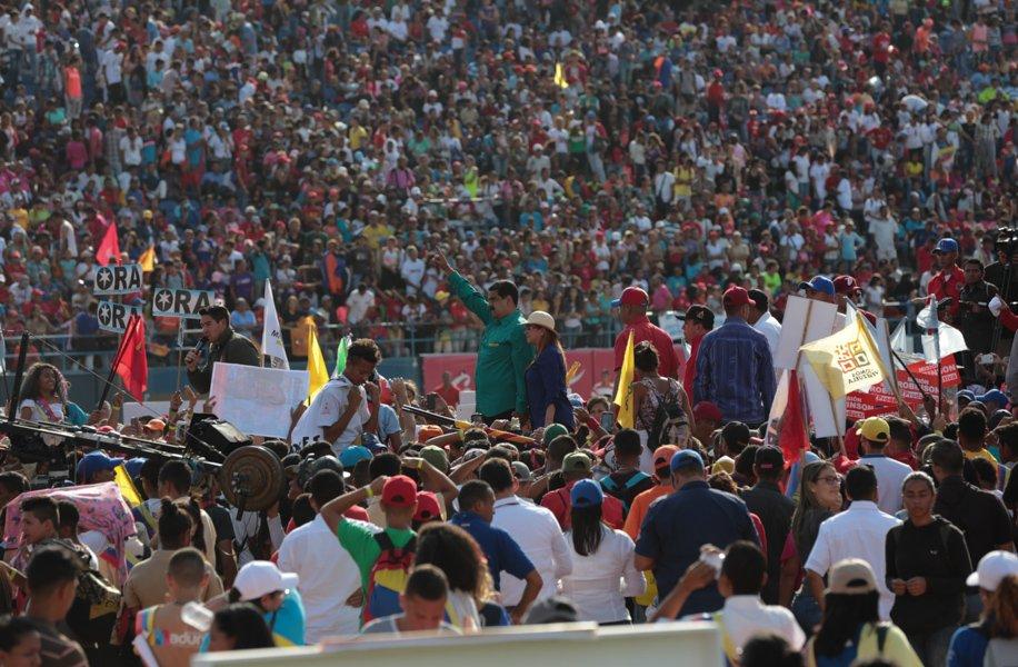 Nicolás Maduro: Necesito de la juventud para construir la patria del futuro en Venezuela