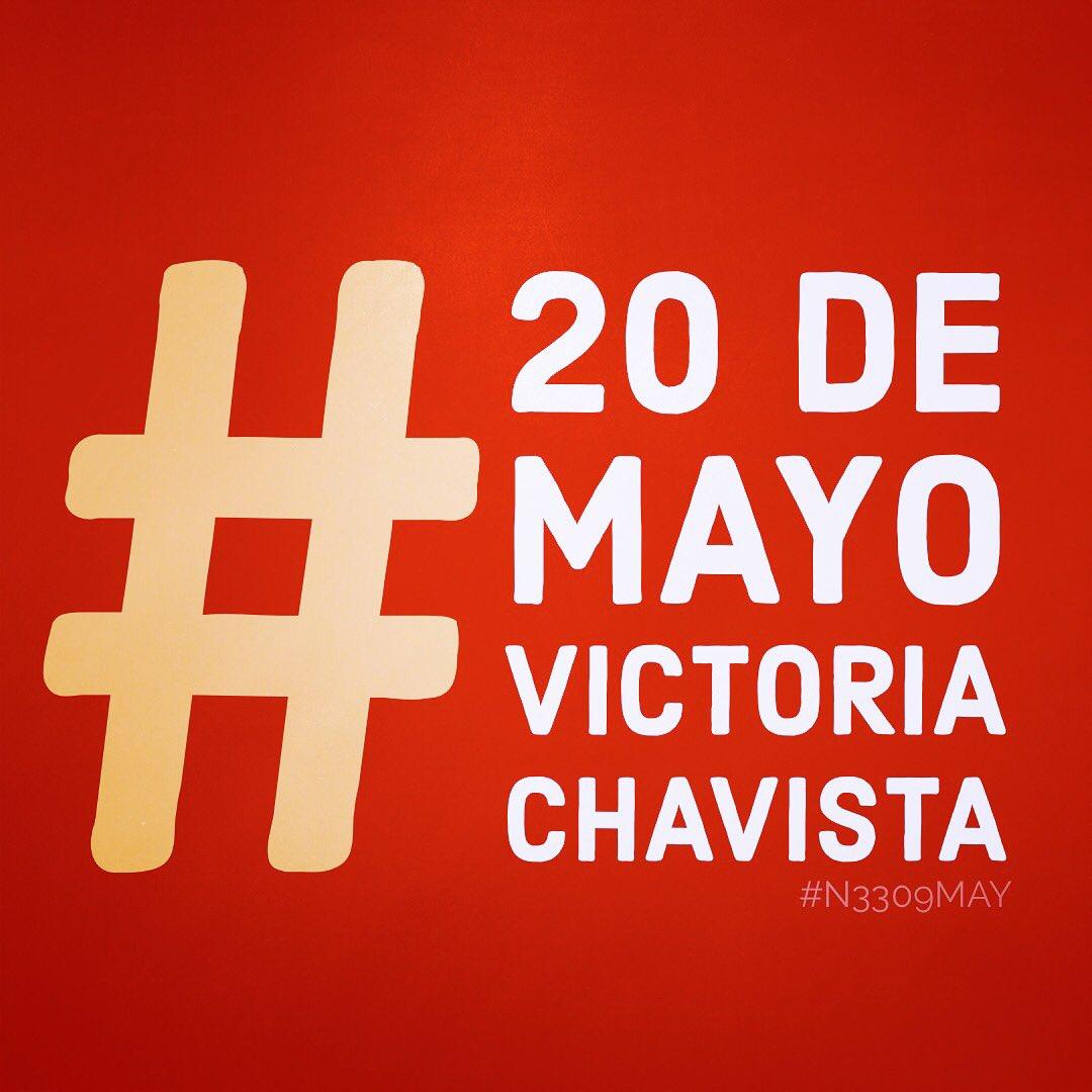 Comunidad tuitera venezolana marcó tendencia #20DeMayoVictoriaChavista