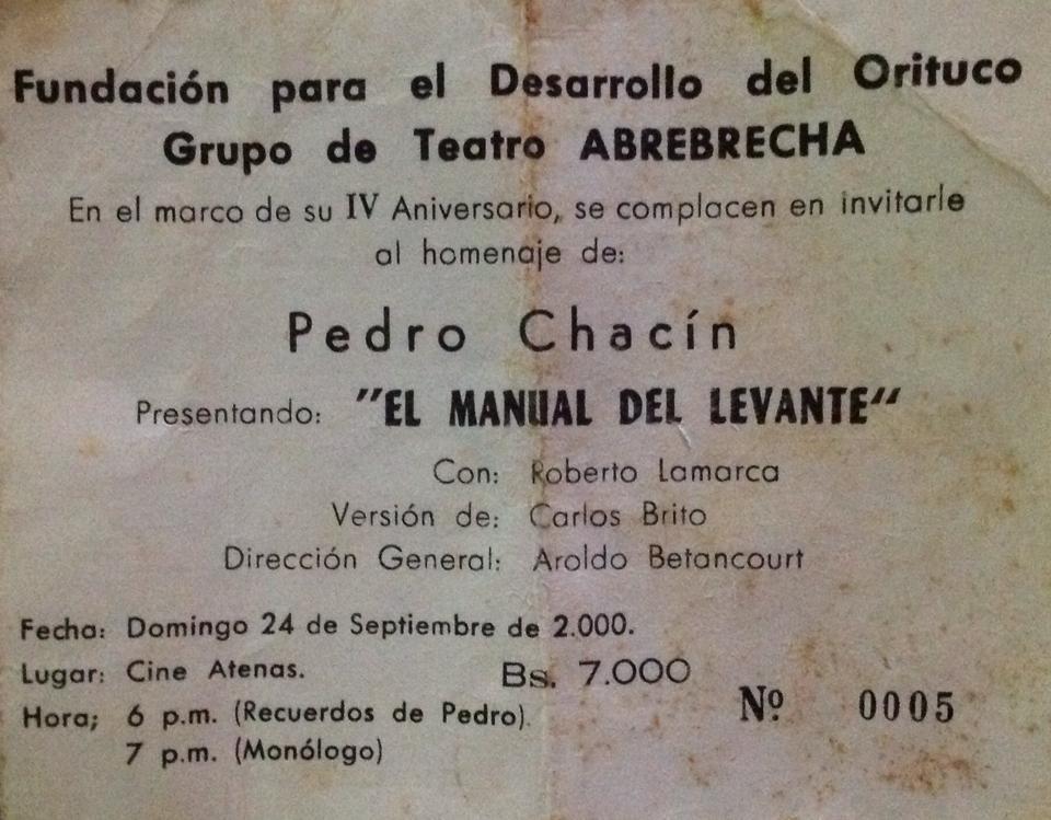 Legado de la seducción con sello Pedro Chacín será recordado