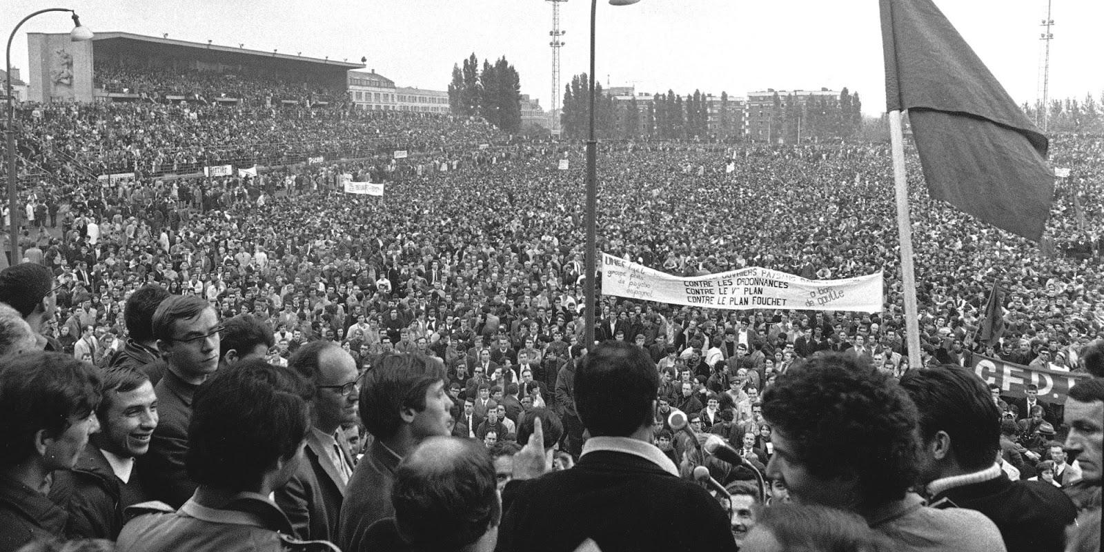 Mayo francés: de movimiento estudiantil a protesta social