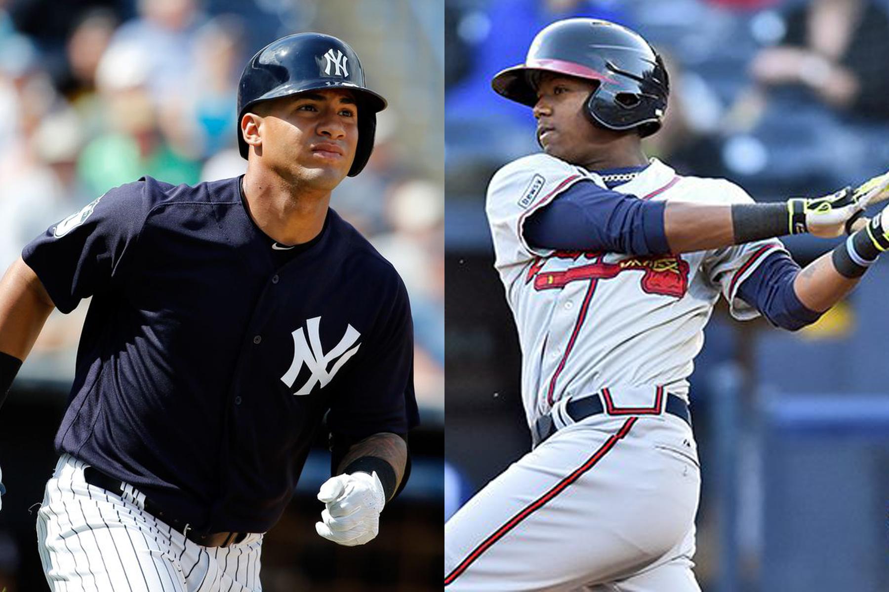 Gleyber Torres y Ronald Acuña se perfilan entre los candidatos a Novato del Año en la MLB