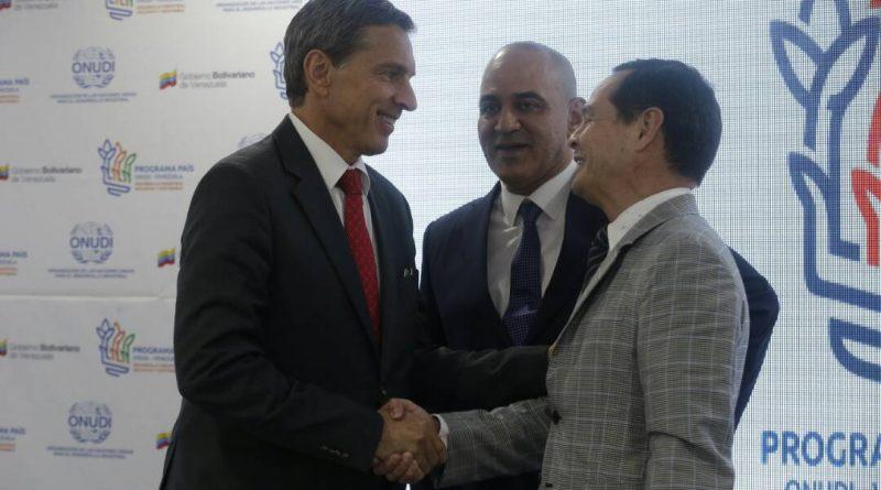 Venezuela y Onudi definen estrategias para ejecutar Programa País
