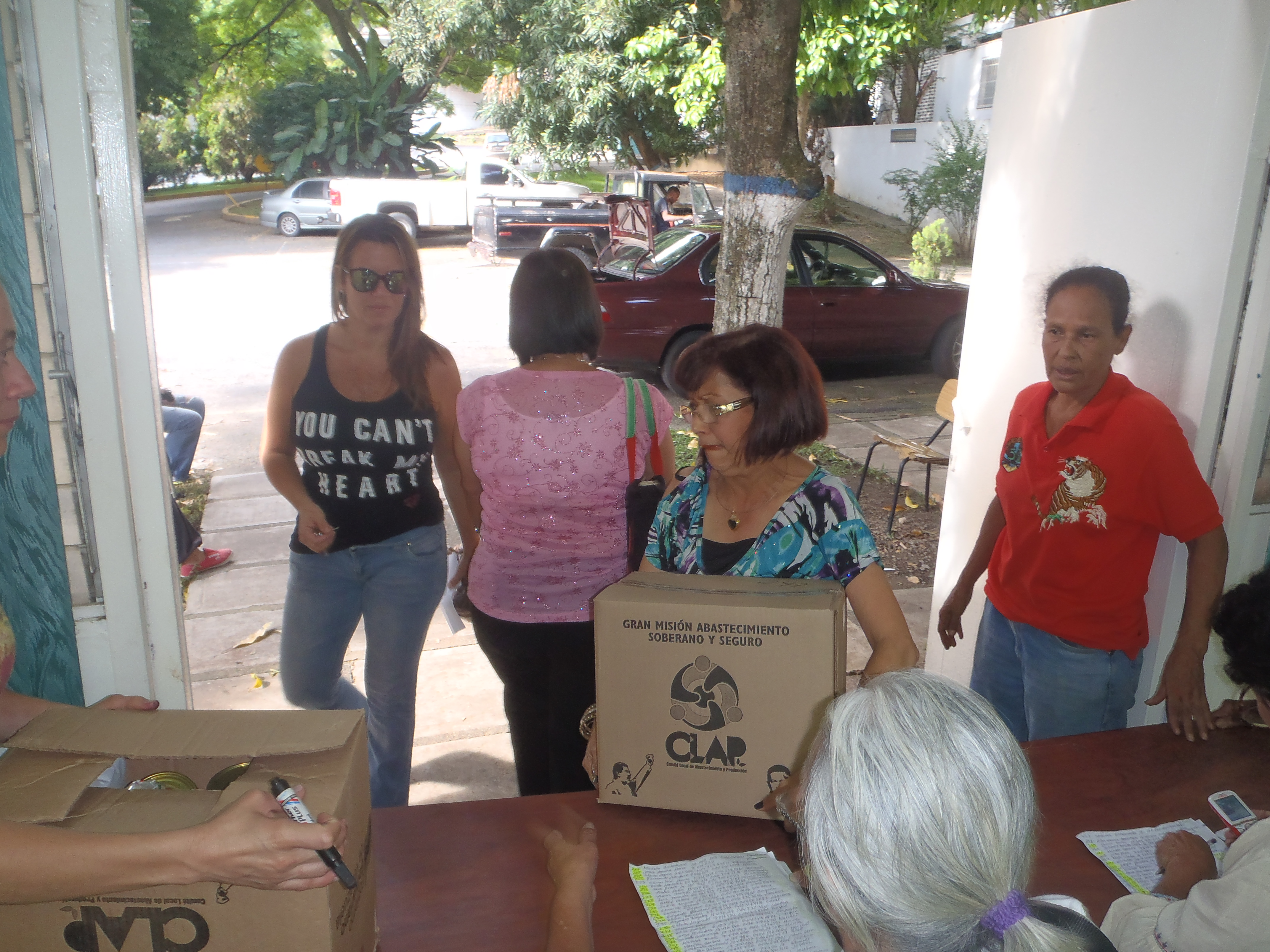 CLAP beneficia a 50 mil personas de clase media y alta en la parroquia caraqueña El Recreo