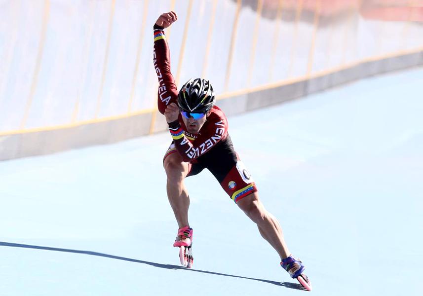 Patinador venezolano se adueña del podio con segundo oro en los Suramericanos