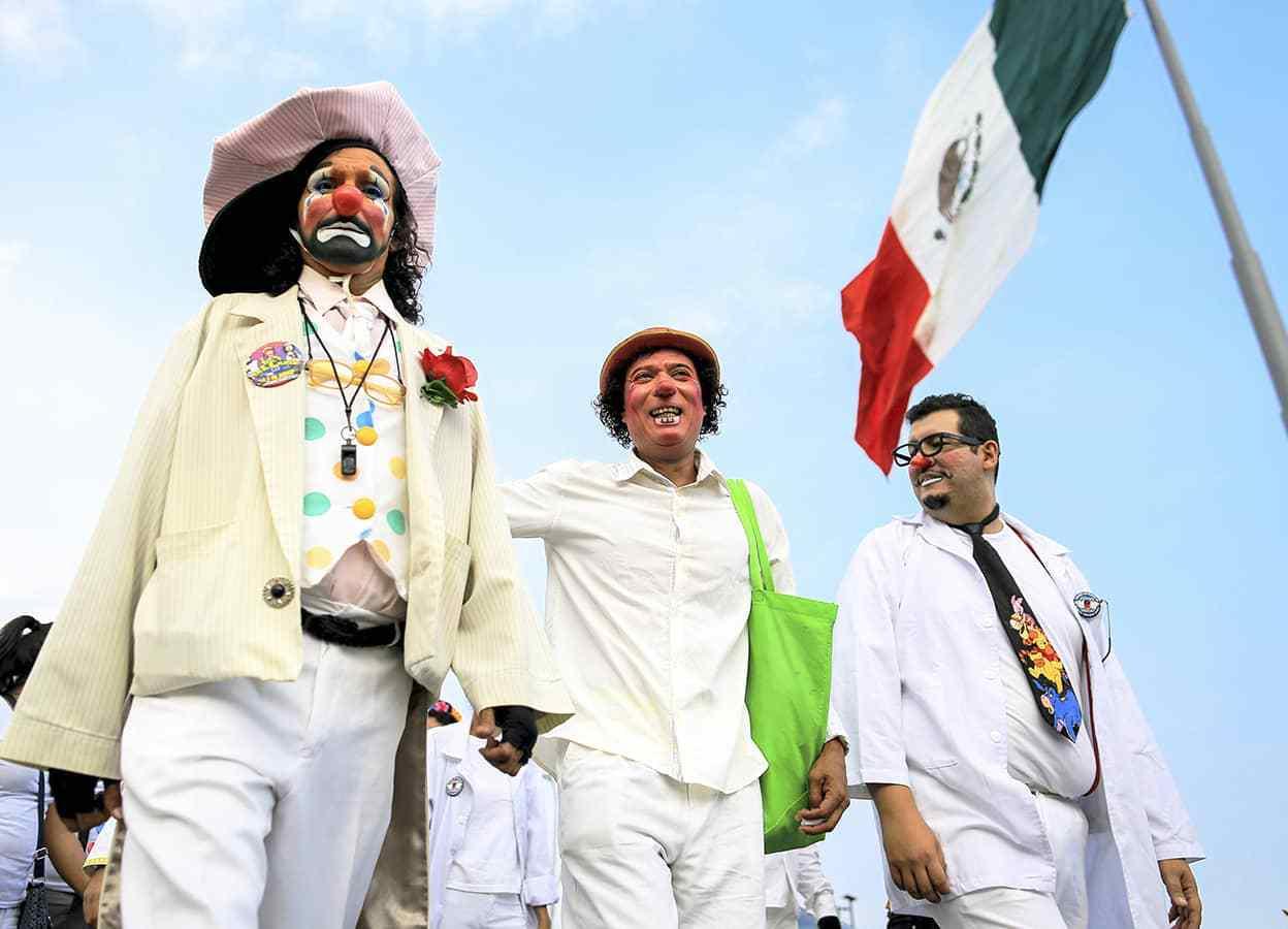 Los payasos piden a gobierno mexicano parar ola de violencia