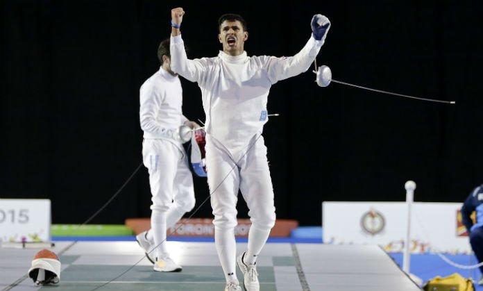 Rubén Limardo amplió su medallero de oro y es el campeón de los Suramericanos
