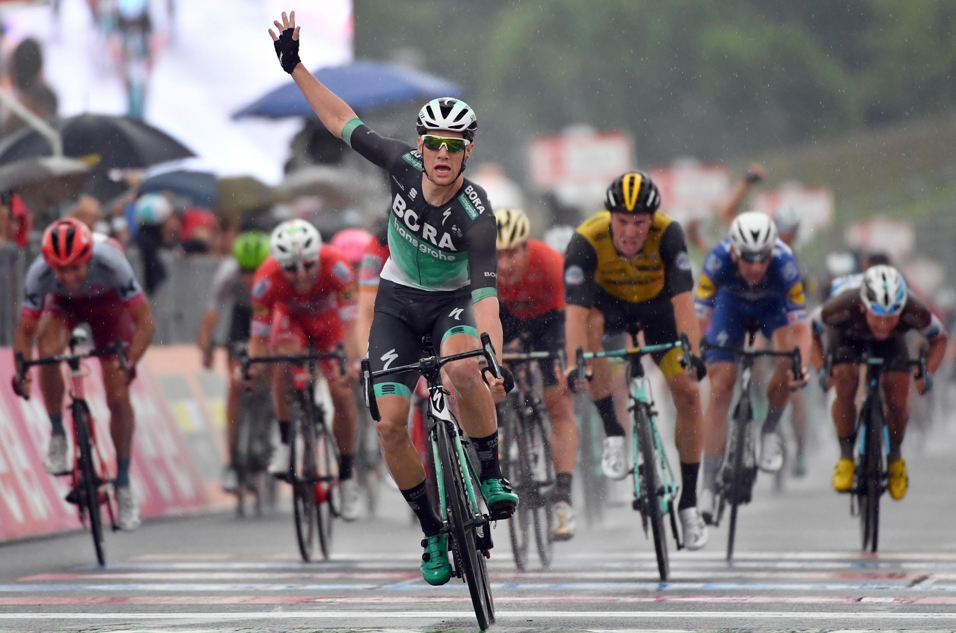 Sam Bennet Giro de Italia