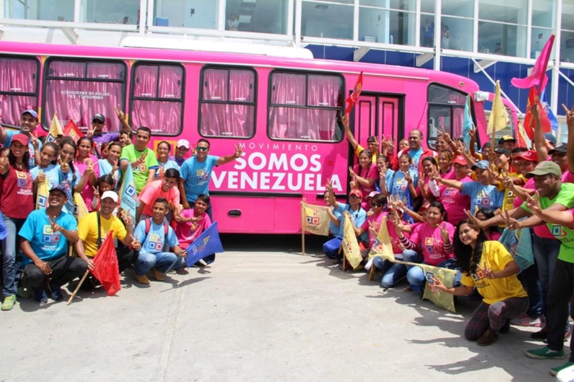 Somos Venezuela inicia despliegue por la paz