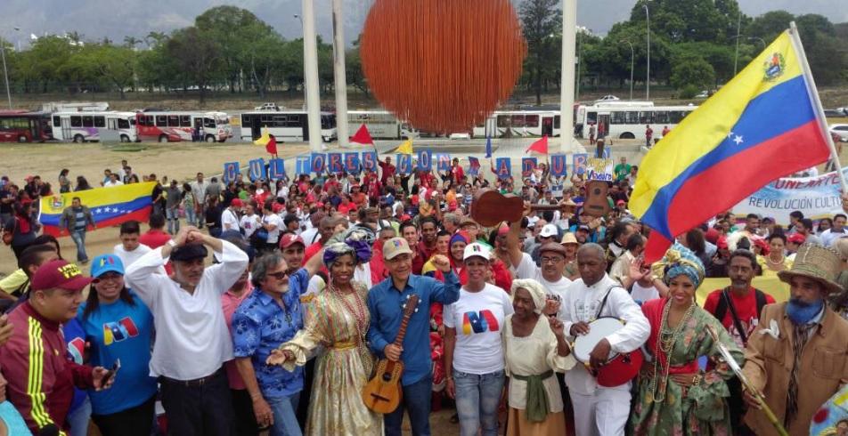 Sector cultural venezolano mostró su apoyo a Nicolás Maduro