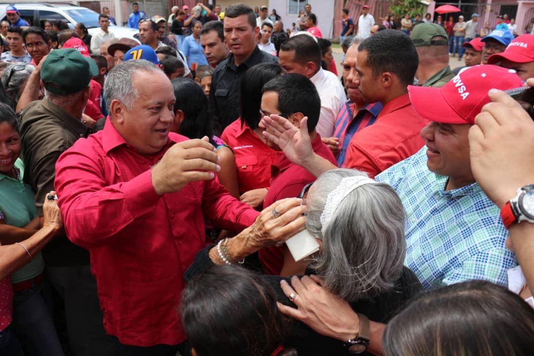 Venezuela elecciones 2018| Diosdado Cabello manifestó su admiración por el civismo del pueblo venezolano