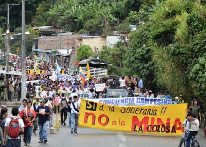 Colombia: rechazan el regreso de la minera Anglo Gold Ashanti a Antioquia