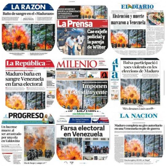 Venezuela Elecciones 2018 | Canalla mediática pretende deslegitimar proceso democrático venezolano