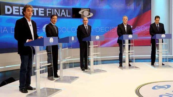 Candidatos presidenciales de Colombia entre la continuidad del proceso de paz o la guerra