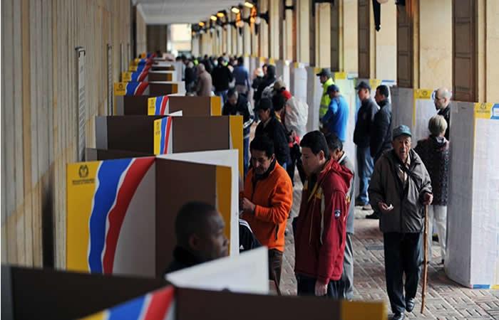 Más de 36 millones de colombianos participarán en las elecciones presidenciales de este domingo