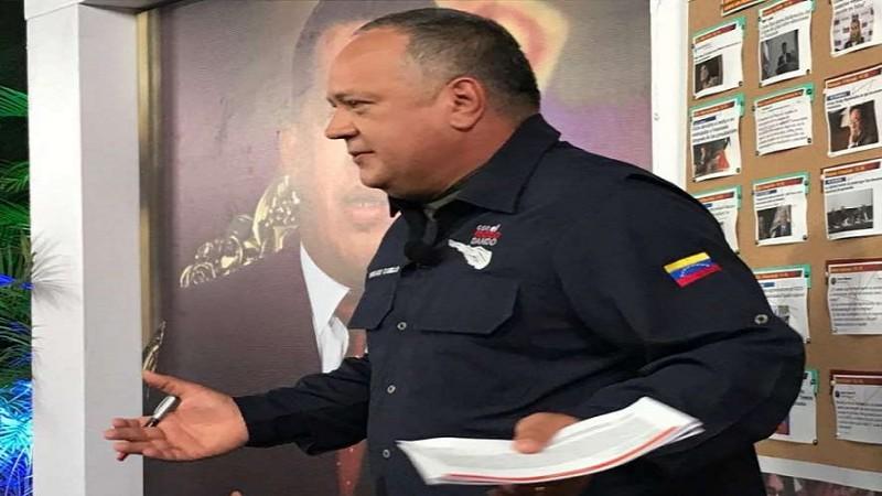 Diosdado Cabello: hoy la derecha tenía provocaciones como la ocurrida en el Sebin