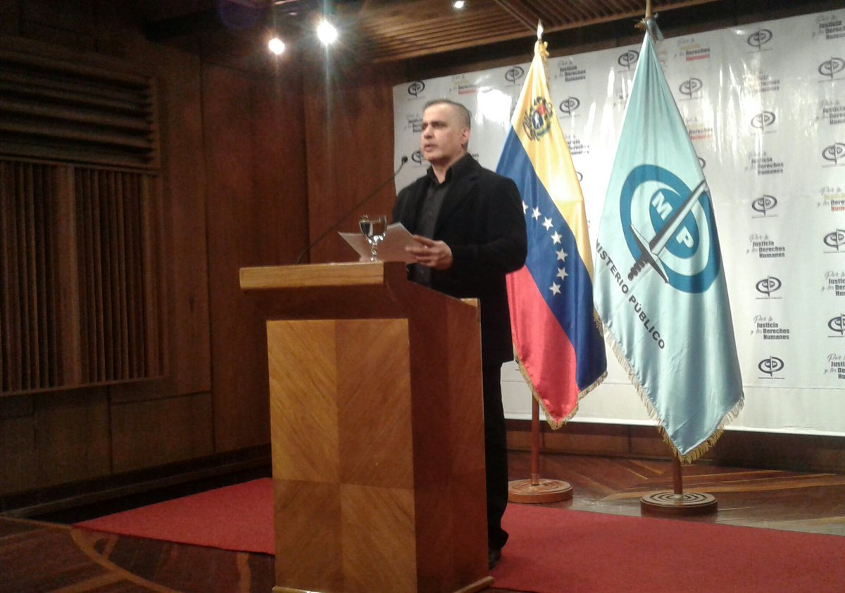 Fiscal General de Venezuela: «A través de oficina satélite de Pdvsa se hizo un desfalco multimillonario»