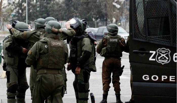 GOPE descarta presencia de artefacto explosivo previo a la marcha de la Confech