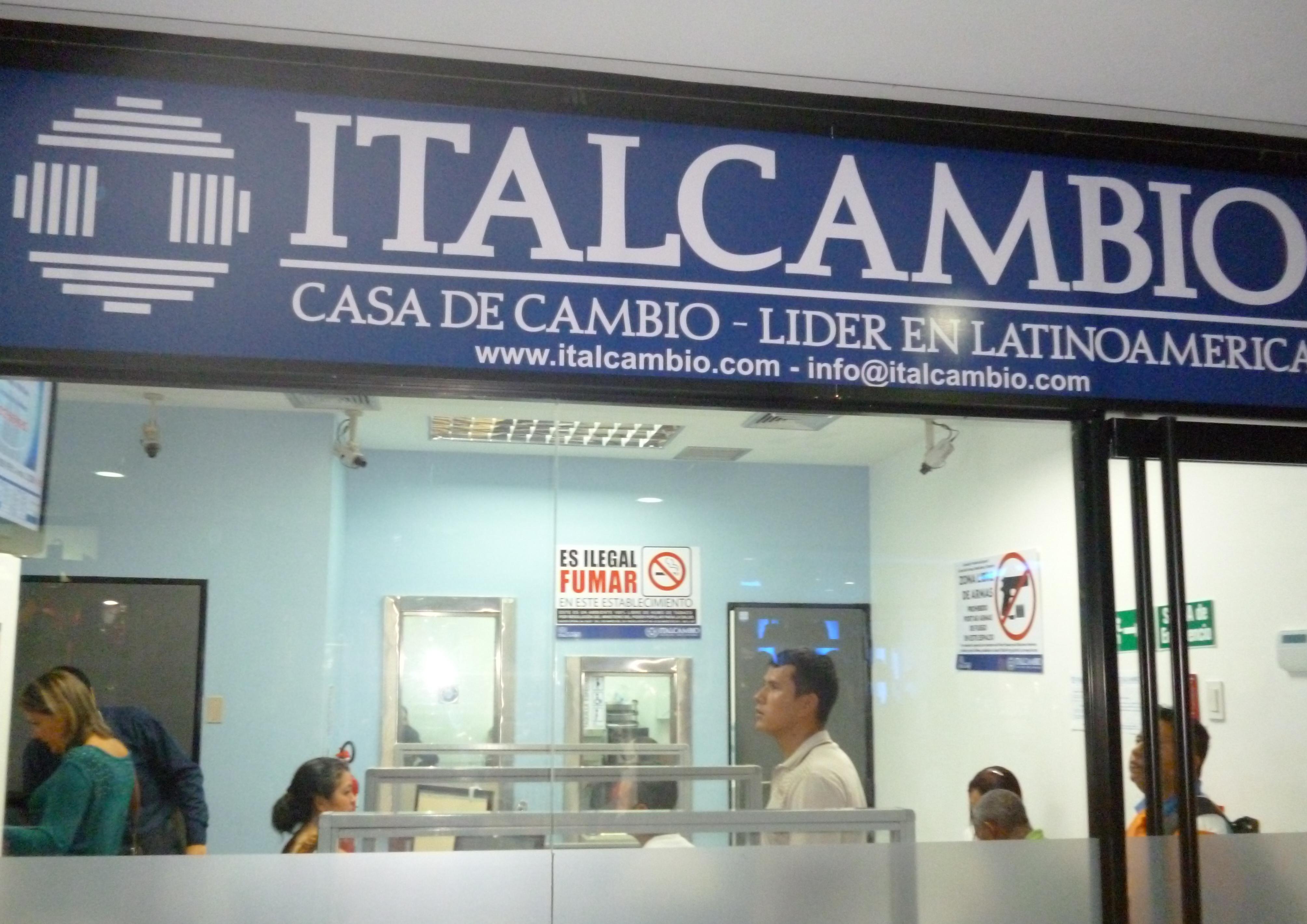 Autoridades venezolanas investigan a Italcambio y otros bancos por tráfico de efectivo
