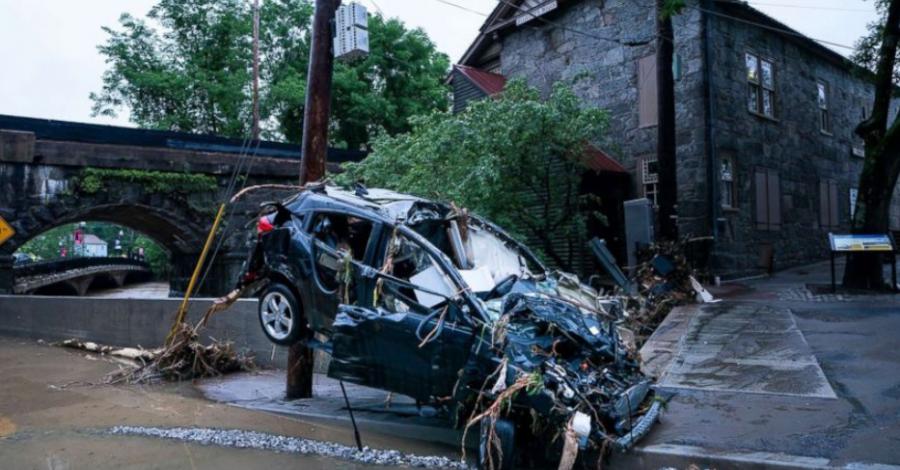 EEUU: Una persona fallecida y daños en infraestructura dejan fuertes lluvias