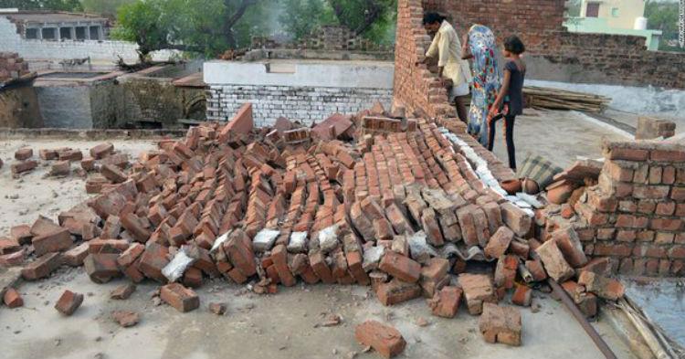 Una decena de muertos por lluvias torrenciales en el sur de la India