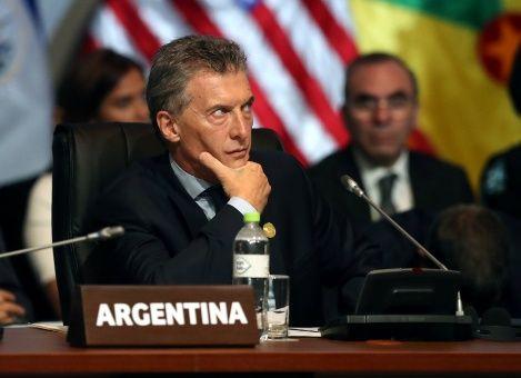 Rechazo a política económica de Macri crece a 54% en Argentina