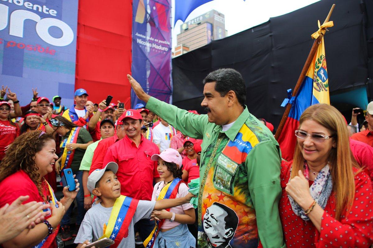 Nicolás Maduro en cierre de campaña: «Lo que viene es una victoria histórica»