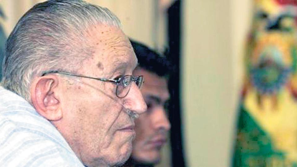 Fiscalía boliviana pide tener acceso a cartas de exdictador García Meza