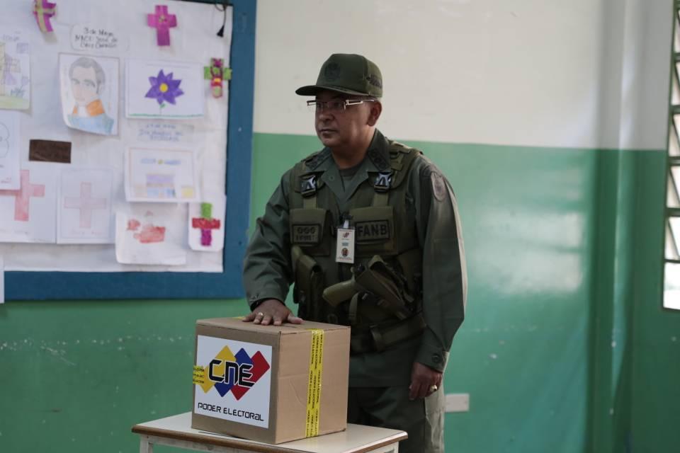 Venezuela Elecciones 2018 | Néstor Reverol: «La participación en las votaciones es masiva»
