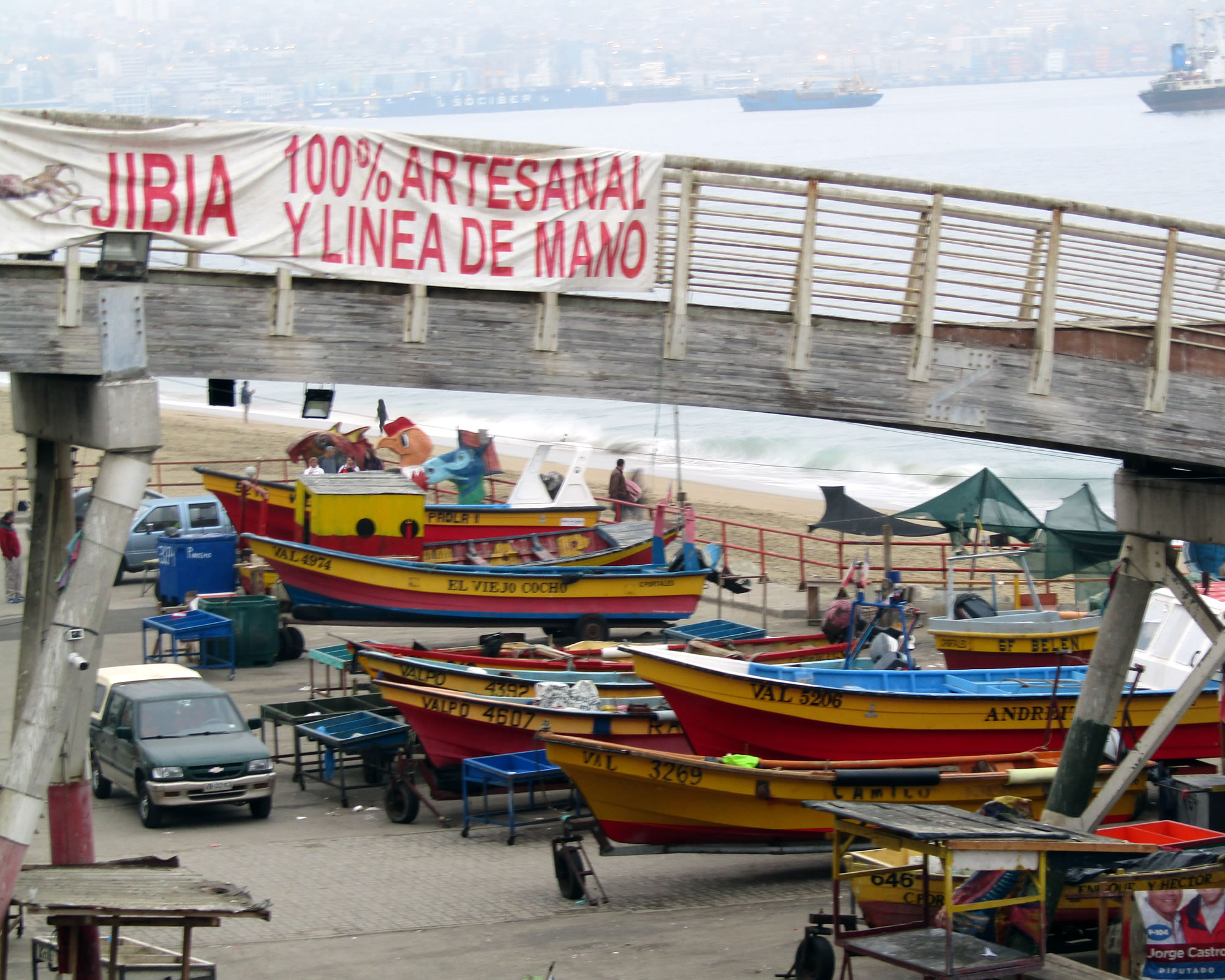Pescadores de Valparaíso también están en contra de las modificaciones por Ley Corta de Pesca