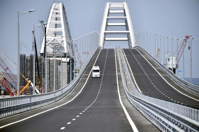 Rusia inaugura puente de 19 kilómetros que la une con la península de Crimea