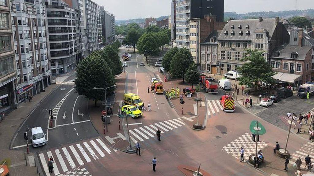 Abatido un hombre tras matar a dos policías y un transeúnte en Bélgica